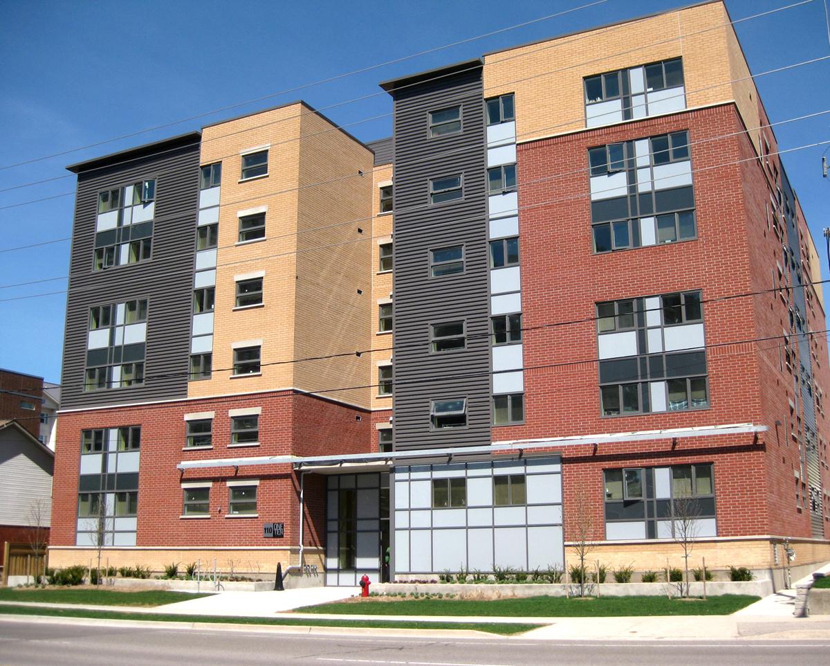 110 University exterior shot