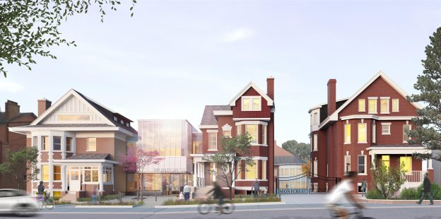 Montcrest Front Elevation Render - with foreground
