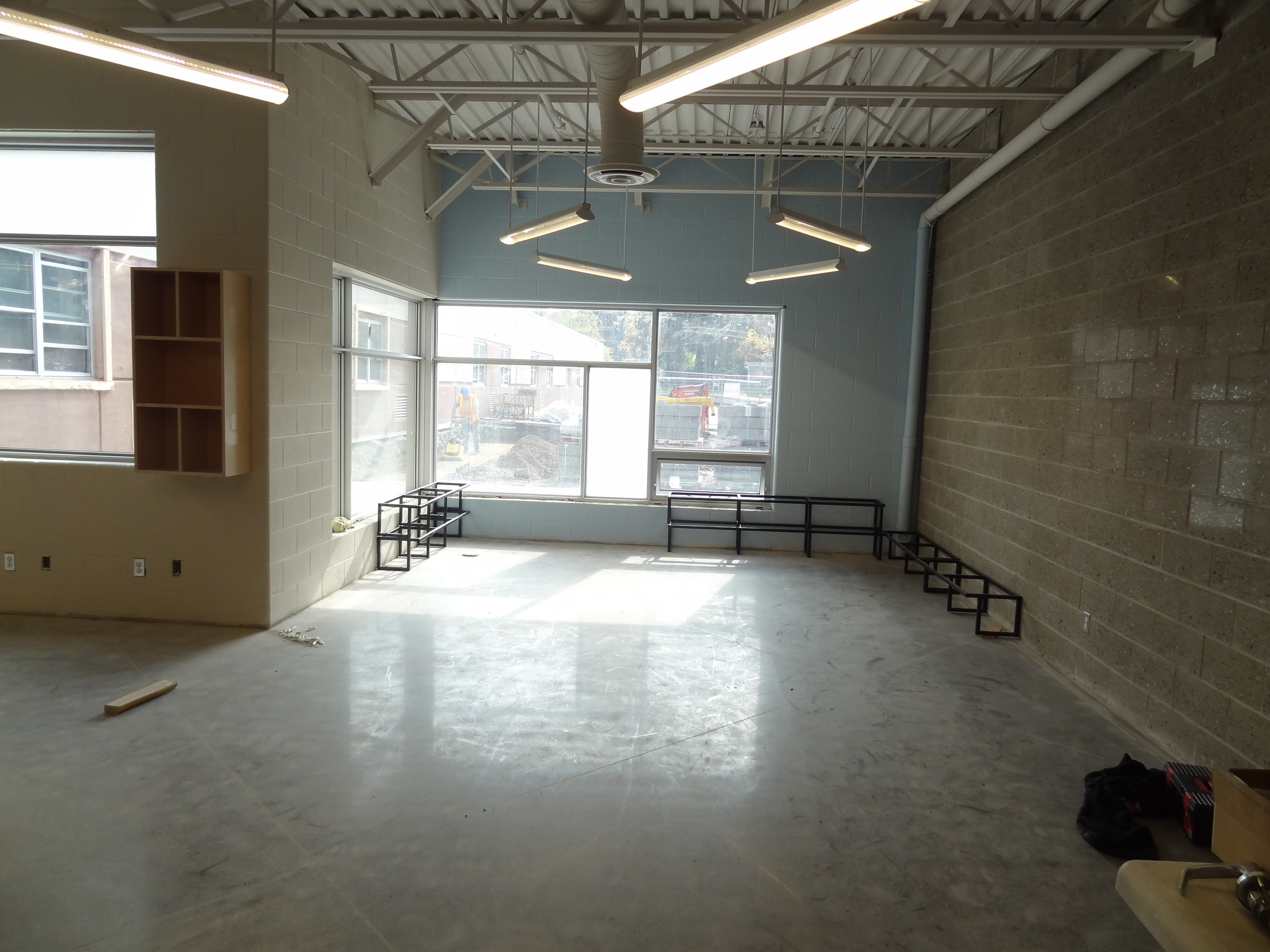 GEDSB River Heights FDK interior shot in construction