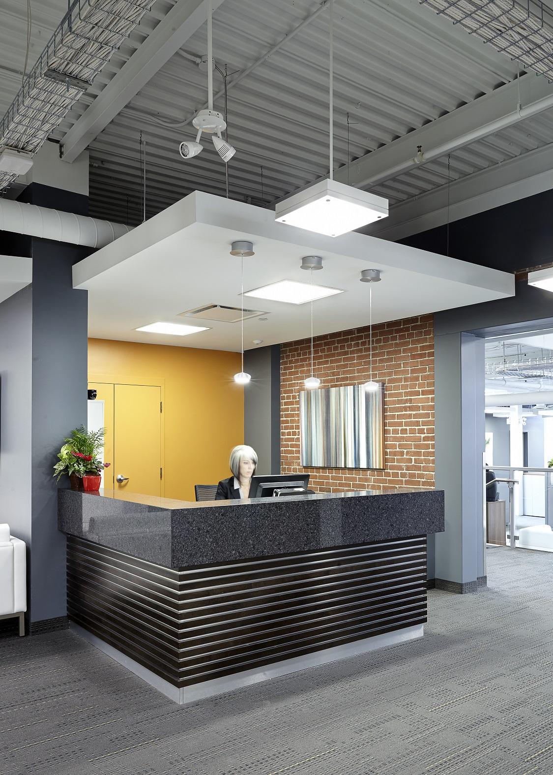 CGT interior reception
