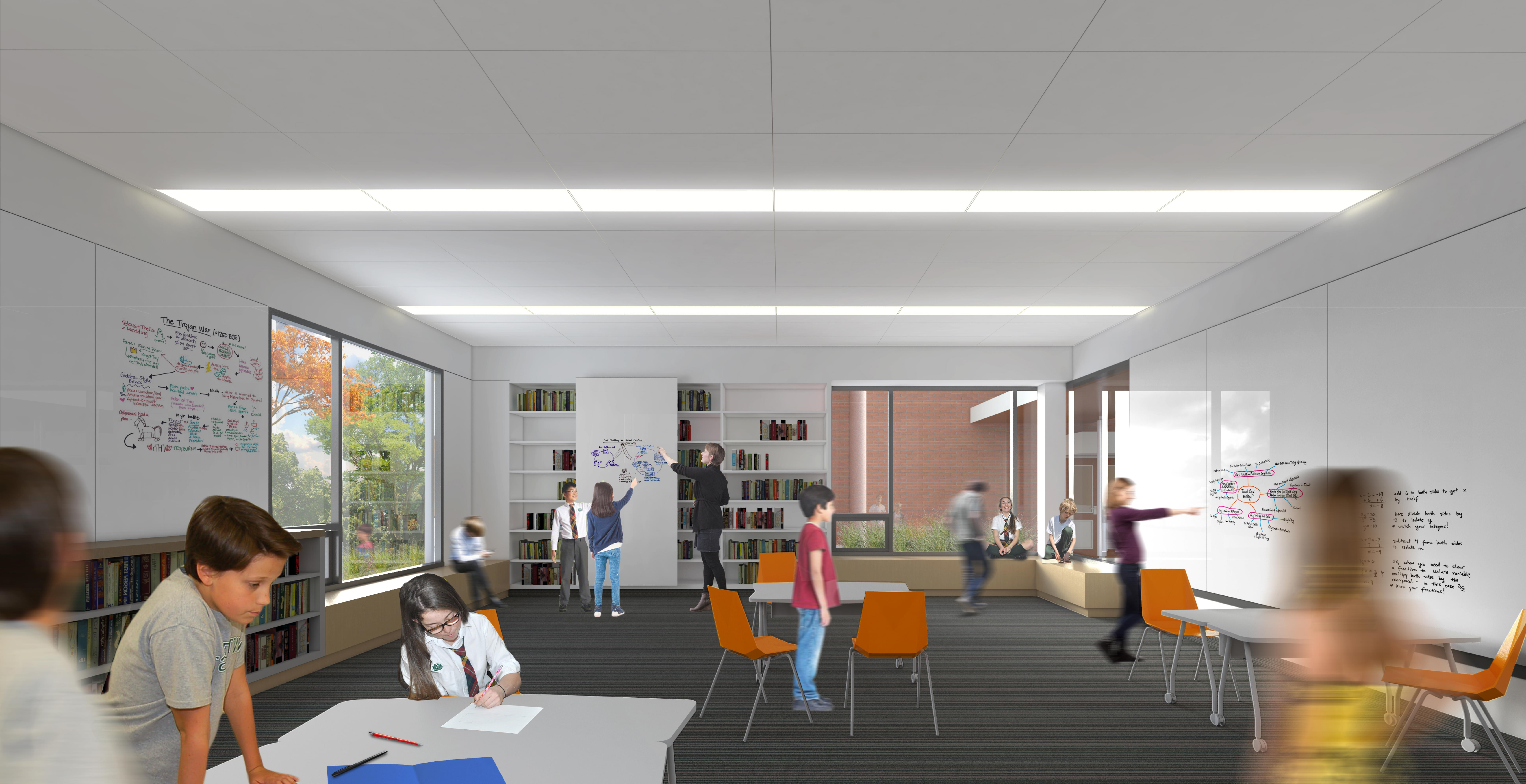 Montcrest Classroom render