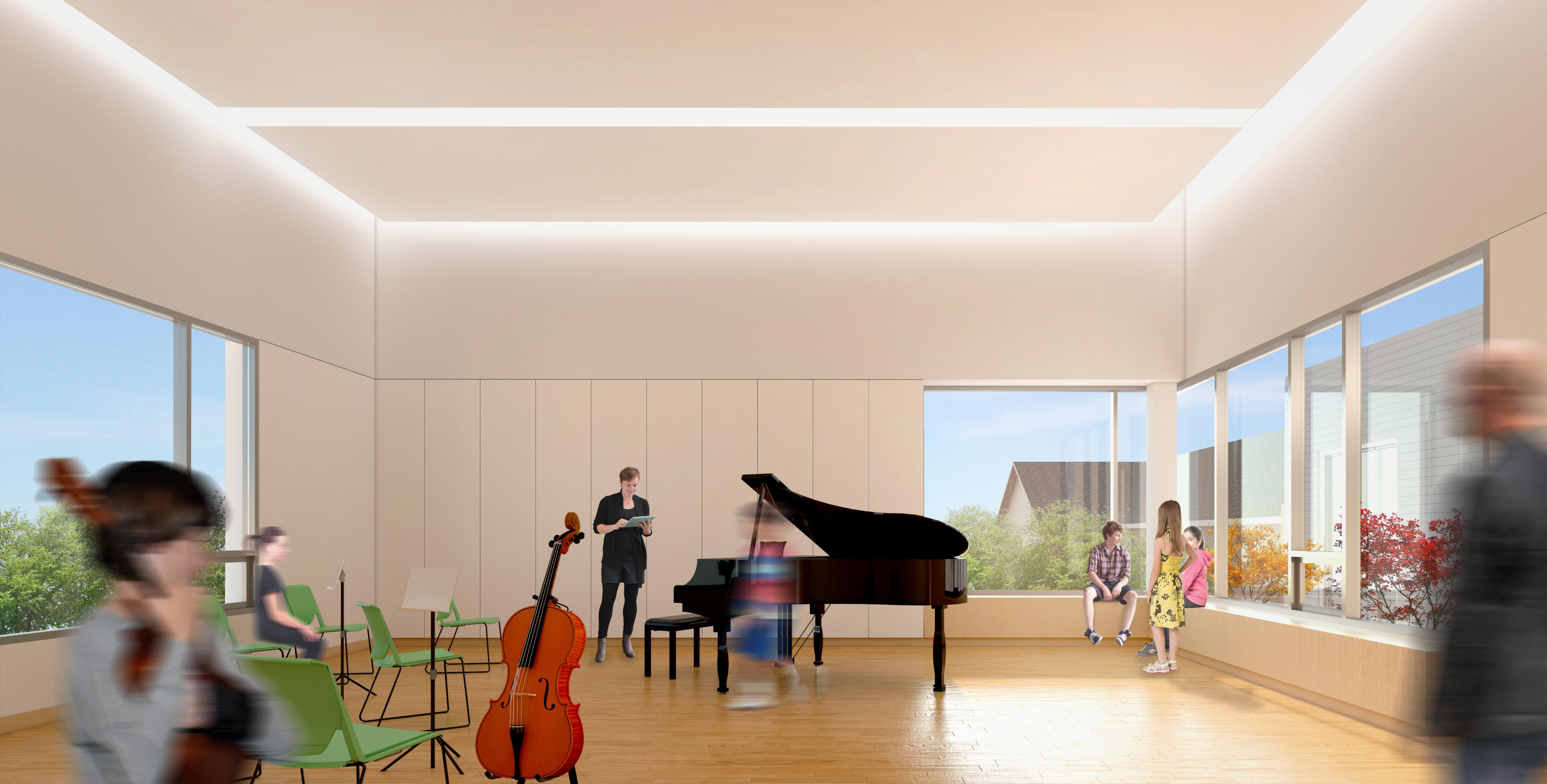 Montcrest music room render